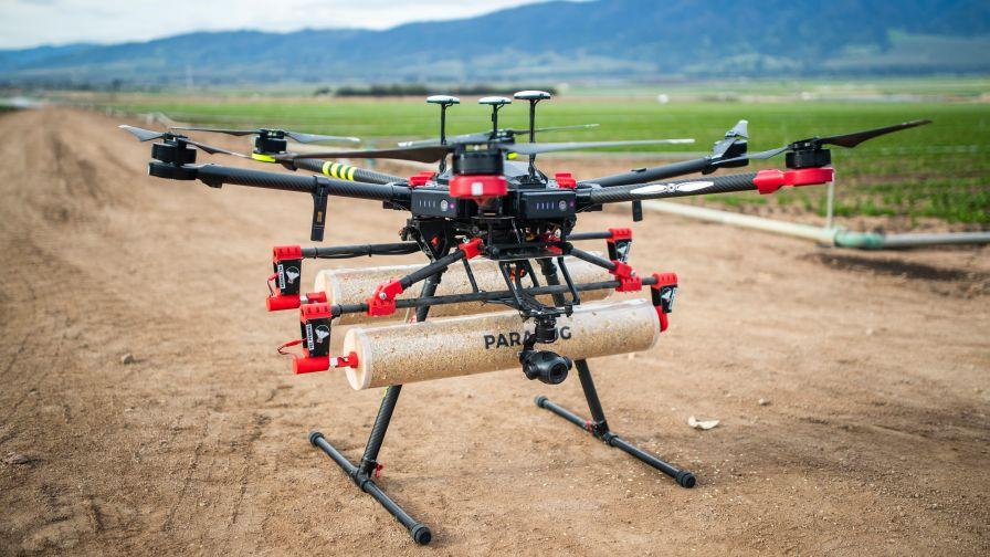 Production de cannabis Parabug Drone Web